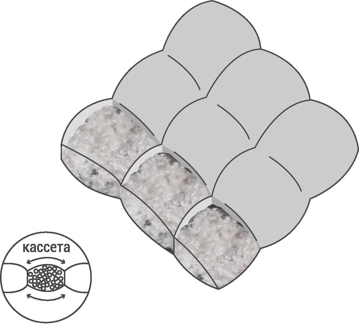 кассетное одеяло